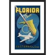 Marmont Hill Florida Licensed Smithsonian Framed Graphic Art