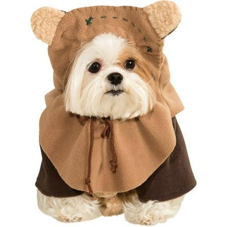 Star Wars Ewok Pet Costume (World War 1 Children's Costumes)