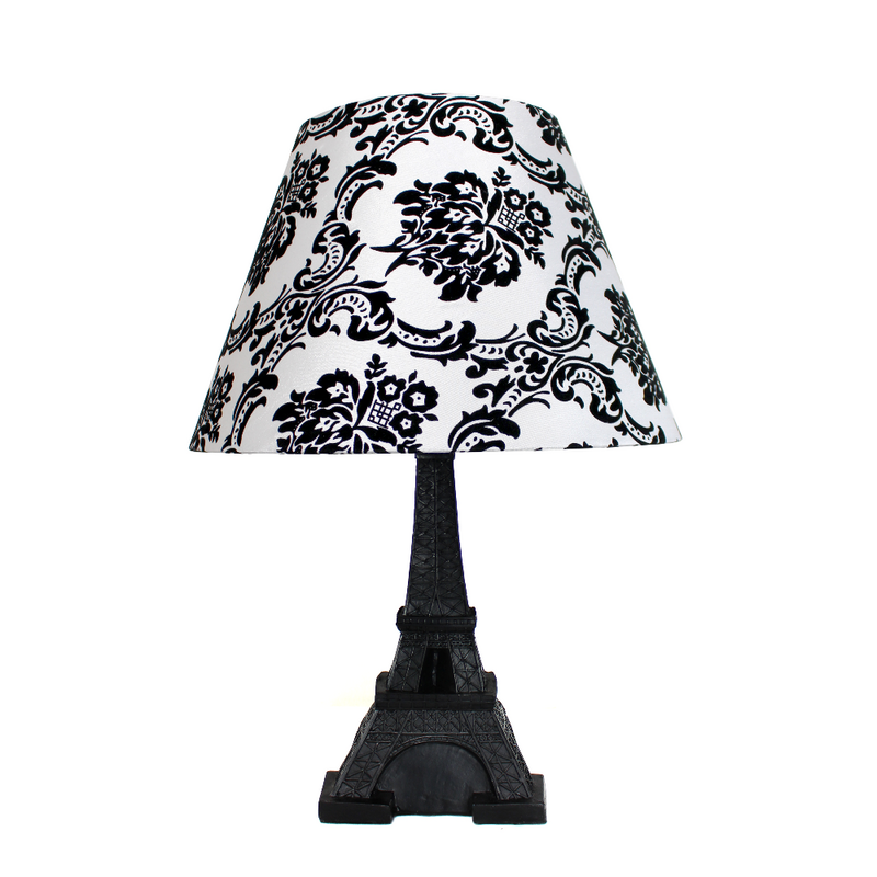 Eiffel Tower Paris Lamp with Shade