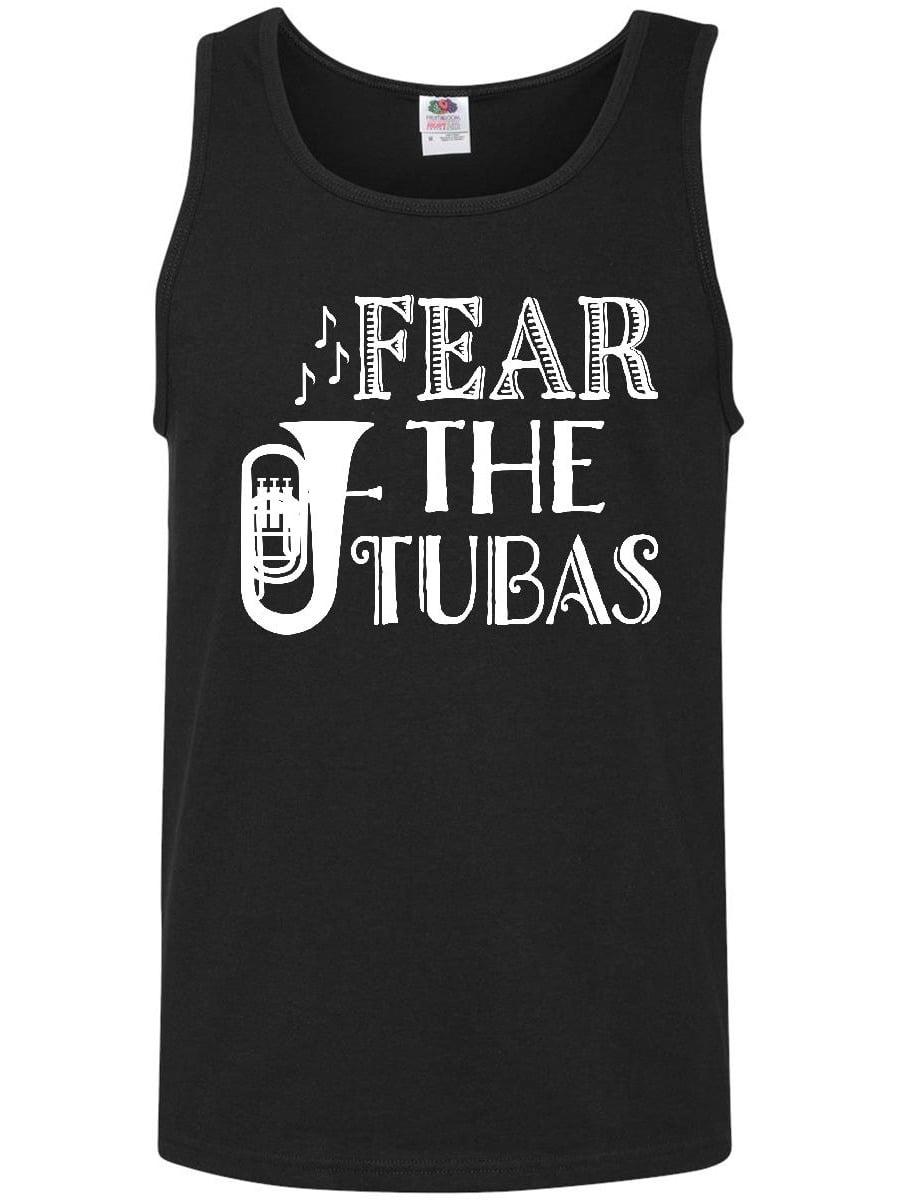 Fear The Tuba Music Humor Band Gift Men's Tank Top