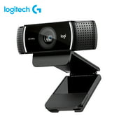 Logitech C922 1080P HD Webcam Streaming Video Chat USB Cam Remote Teaching Meeting Computer Laptop Camera With Stereo Mic For Windows Android