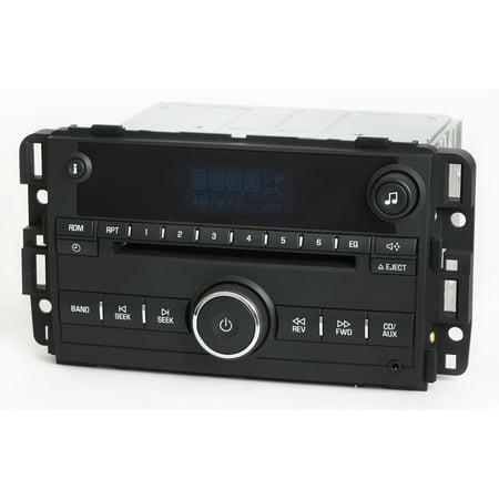 Impala Battery - Chevy Impala 2009-16 AM FM CD Player Radio w Aux Input UNLOCKED - Part 22804479 - Refurbished