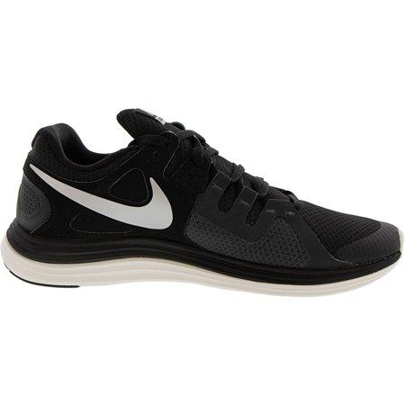 Nike Women's Lunarflash Plus Black / Metallic Silver-Anthracite-Pure Platinum Ankle-High Running - 12M - image 5 of 6