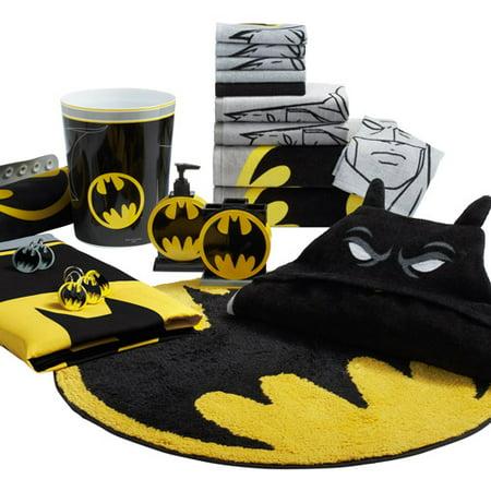 . Batman Logo Fabric Shower Curtain   Walmart com