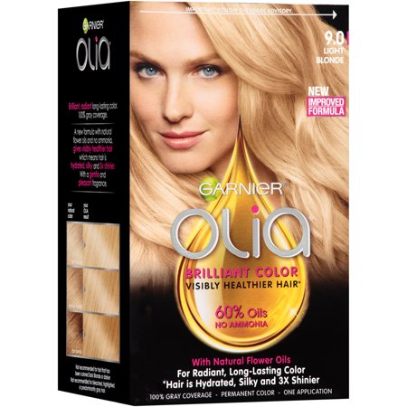 Garnier Olia Oil Powered Permanent Hair Color 90 Light Blonde  Walmartcom