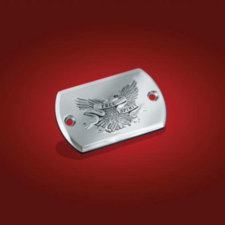 Show Chrome 63-118 Master Cylinder Covers - Free Spirit