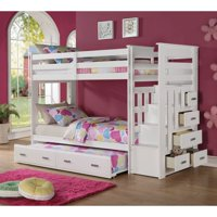 ACME Furniture Allentown White Twin/Twin Bunk Bed, Box 4 of 4