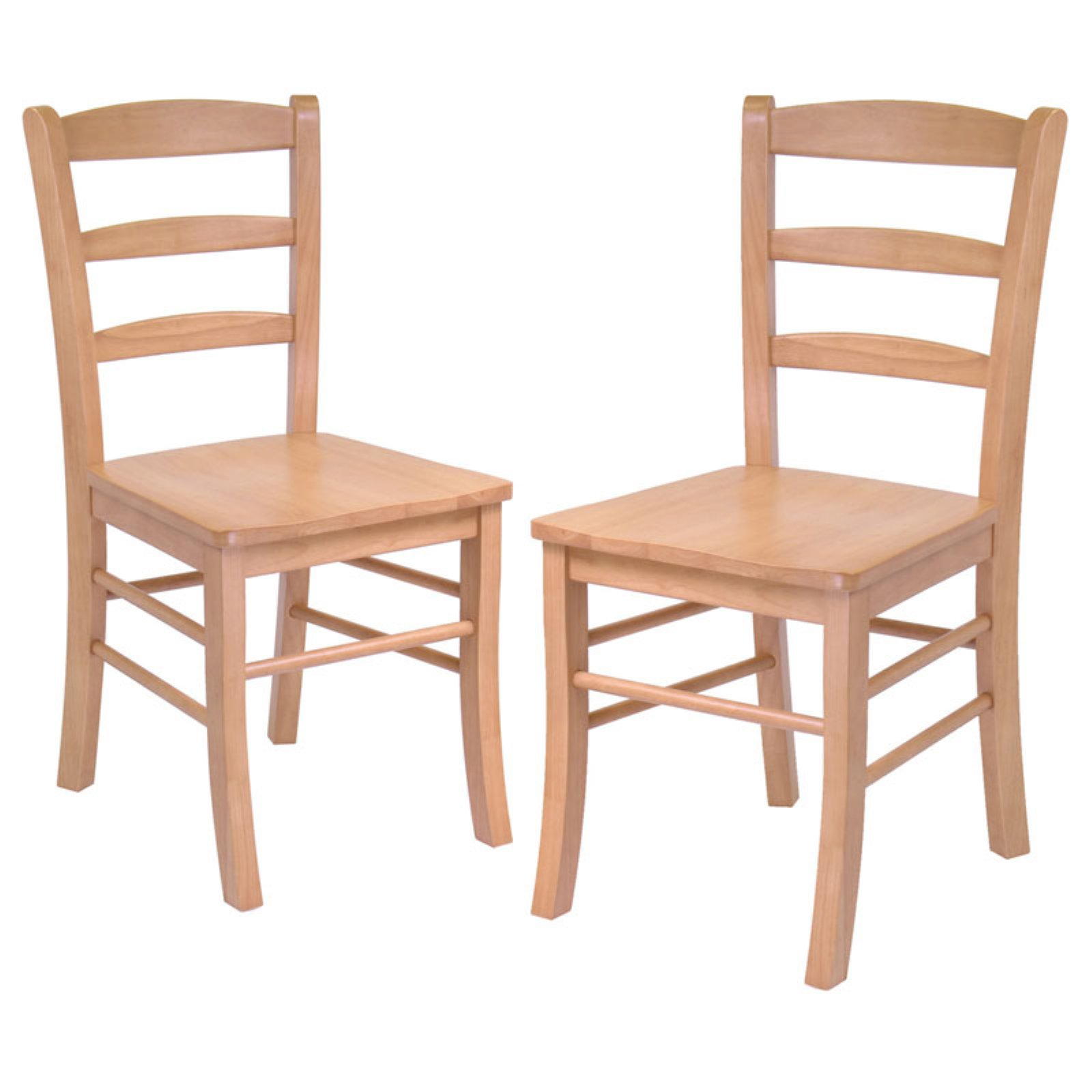 Winsome Ladder Back Chairs - Set of 2