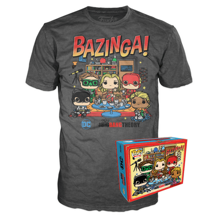 Funko Boxed Tee: The Big Bang Theory - Big Bang Comic - L - Summer Convention Exclusive