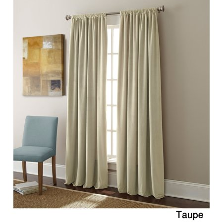 (Sherry Kline  Elite Velvet 84-inch Curtain Panel Pair)