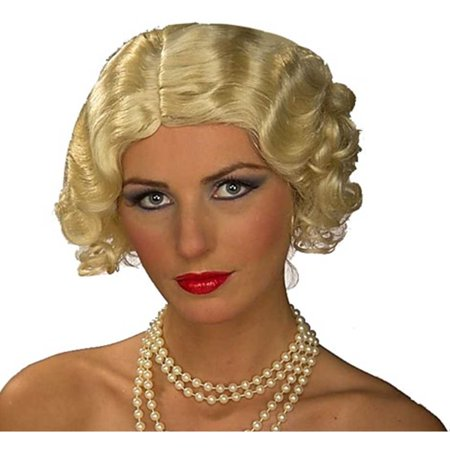 Blonde Flapper Halloween Costume Accessory - Dumb Blonde Halloween Costume