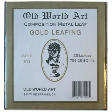 Old World Art Metallic Leafing Sheet, 5.5