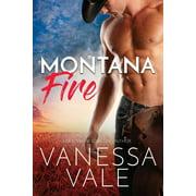 Small Town Romance: Montana Fire: Large Print (Paperback)