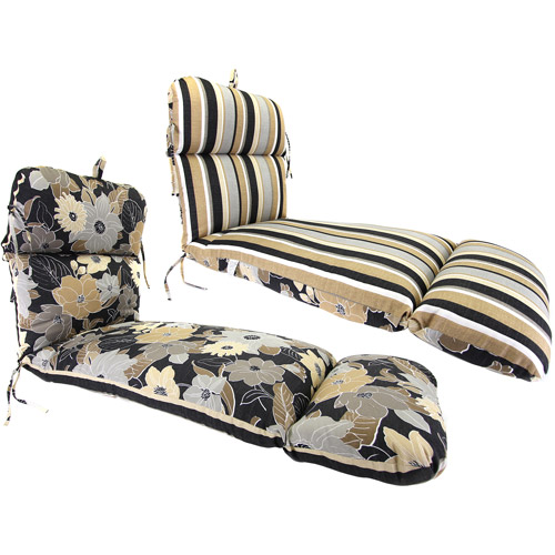 Jordan Manufacturing Reversible Deluxe Chaise Cushion, Multiple Colors