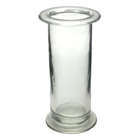 Cylindrical Gas Jar - Soda Glass - 6