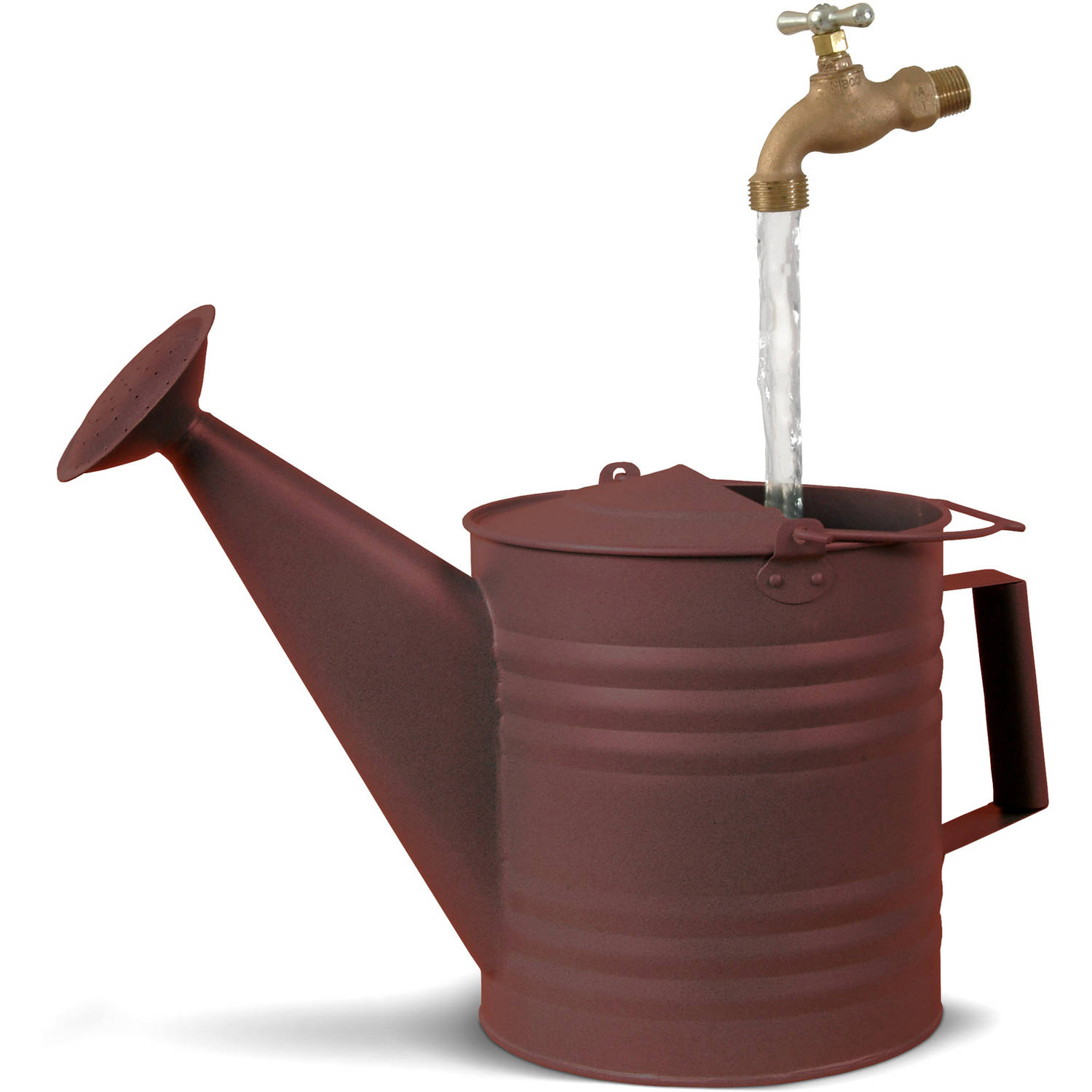 Universal Home and Garden NR-3 Fantasy Fountains New Rust Watering Can Fountain by Universal Home and Garden