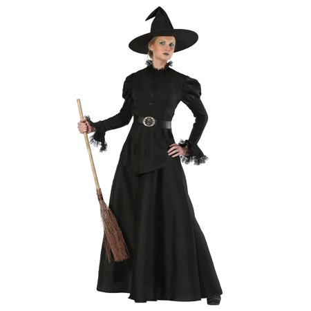 Classic Black Witch Women's - Black Witch Makeup