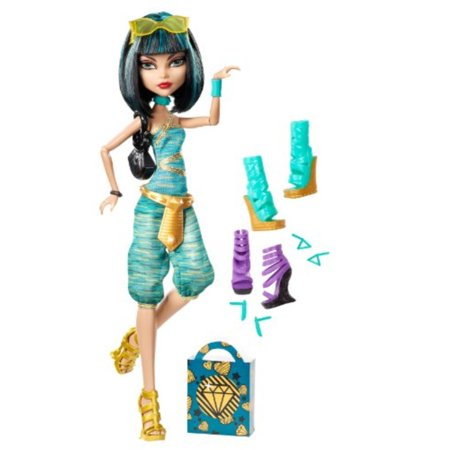 Monster High Cleo De Nile Doll & Shoe Collection