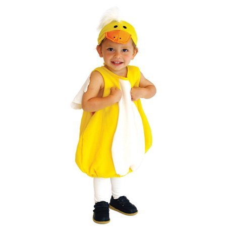 Infant and Toddler Baby Duck Costume with Hat, S - Duck Infant Costume