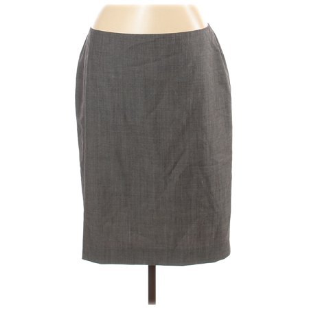 Pre-Owned Anne Klein Women's Size 12 Wool Skirt