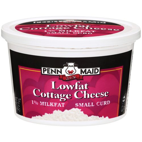 Penn Maid Lowfat Small Curd Cottage Cheese, 16 oz