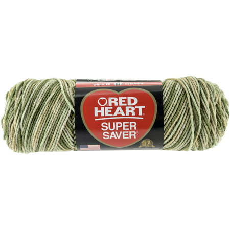 Red Heart Super Saver Desert Camouflage Yarn, 1 Each Hand Painted Sock Yarn