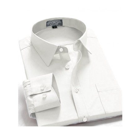 Oxford Men's Regular Fit Long Sleeve Button-Front One Pocket Shirt (Button Down Chest Pocket Oxfords)