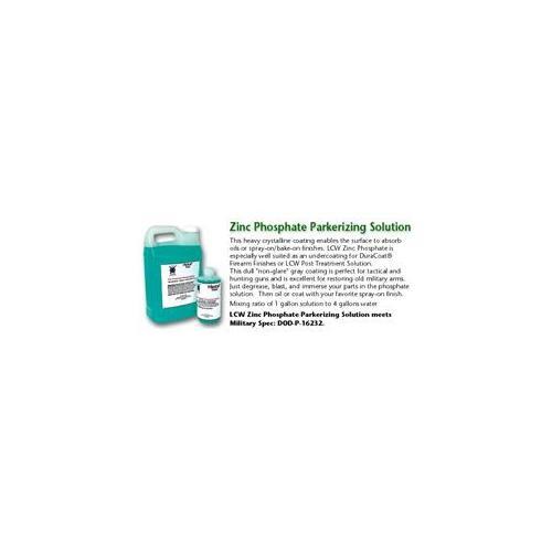 LCW ZPS16 Zinc Phosphate Parkerizing Solution 16oz