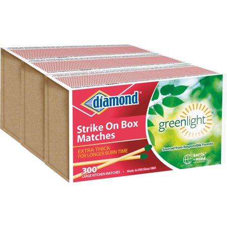 Diamond Strike On Box Kitchen Matches