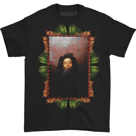 Bob Marley Men's  Smoking T-shirt Black
