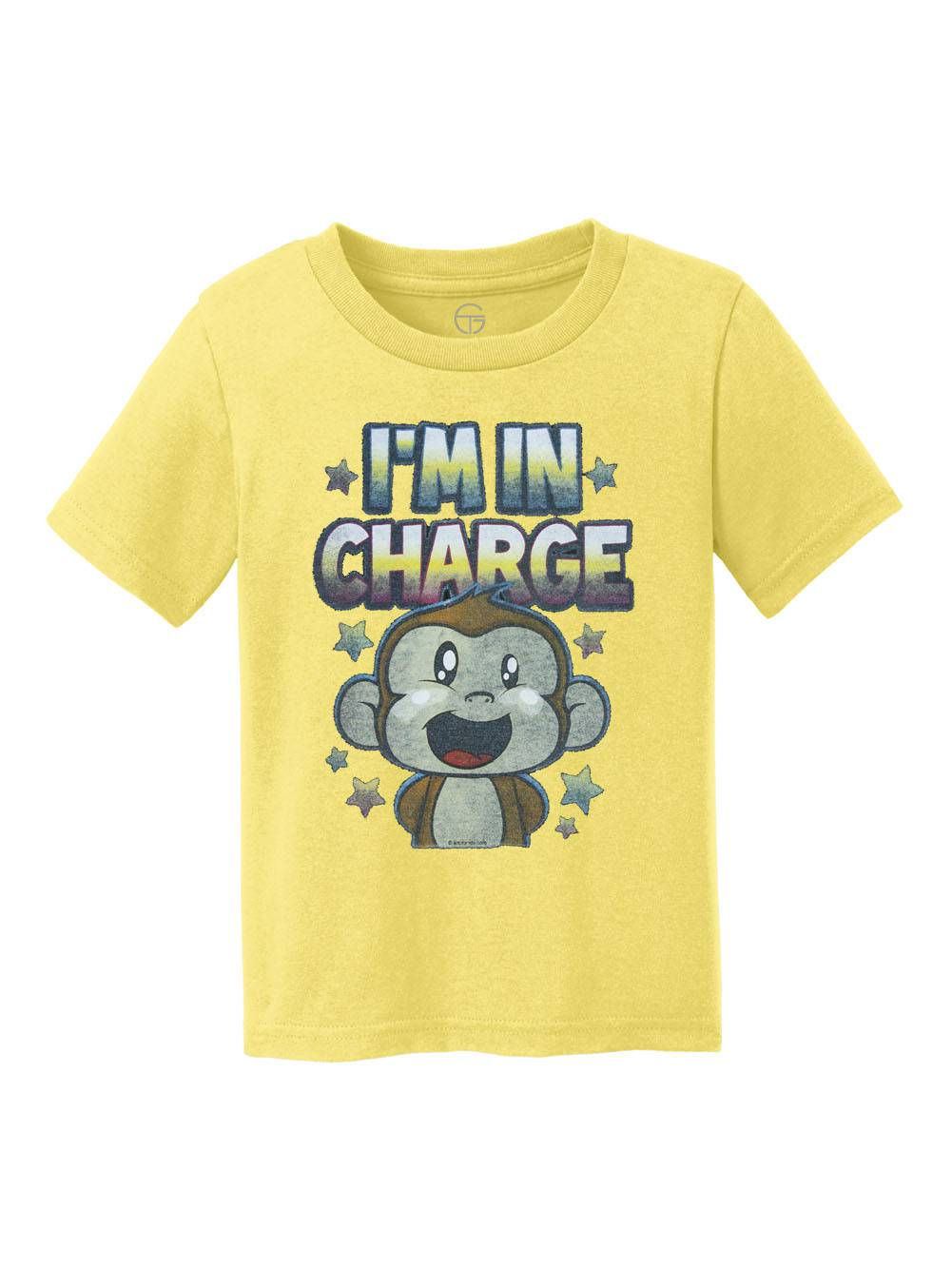 I'm In Charge Youth Cotton T-Shirt