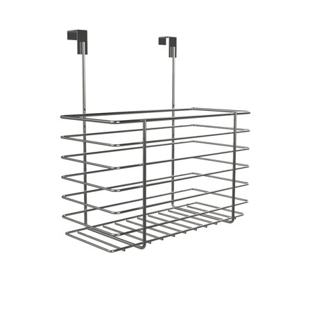 Clic Cuisine Over The Cabinet Kitchen Storage Organizer Hanging Basket Shelf For And Bathroom