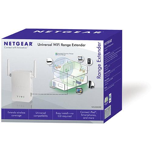 NETGEAR N300 WiFi Range Extender (WN3000RP)