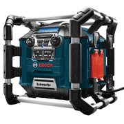 Bosch Power Box Jobsite Radio Stereo with Bluetooth (Certified Refurbished)