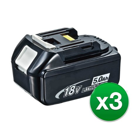 Replacement Battery For Makita DUB182 / DUB182Z Power Tools - BL1850 (5000mAh, 18V, Li-Ion) - 3