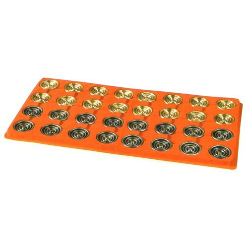 Giant Metal Backgammon Checkers by Cambor Games