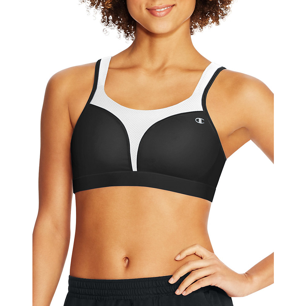 champion spot comfort sports bra , size - 42c