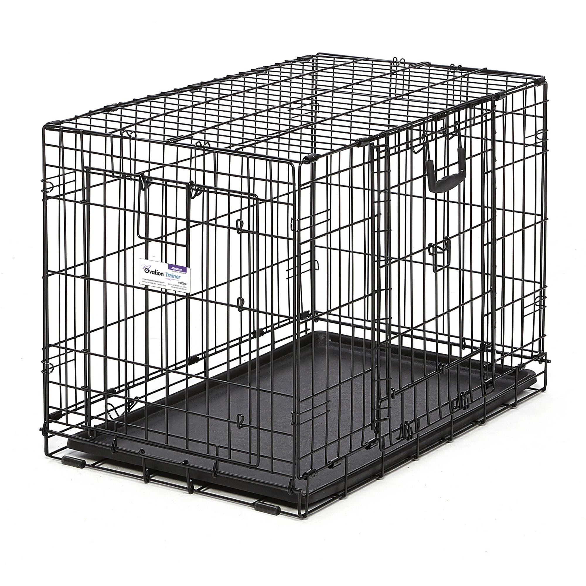 "Midwest 30"" Ovation Double Door Training Crate"