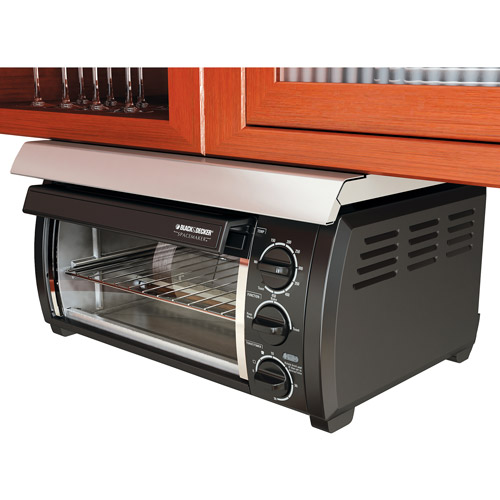 Black & Decker Traditional Spacemaker Toaster Oven, Black ...