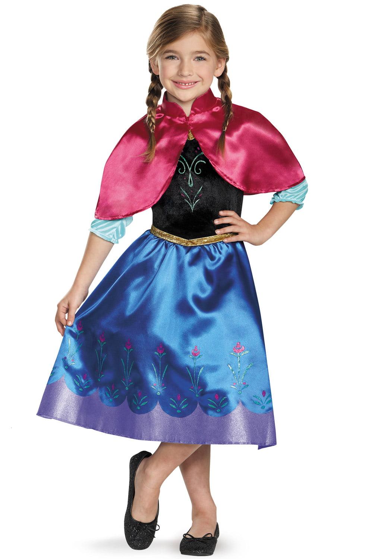 frozen anna child halloween costume walmartcom - Halloween Princess Costumes For Toddlers