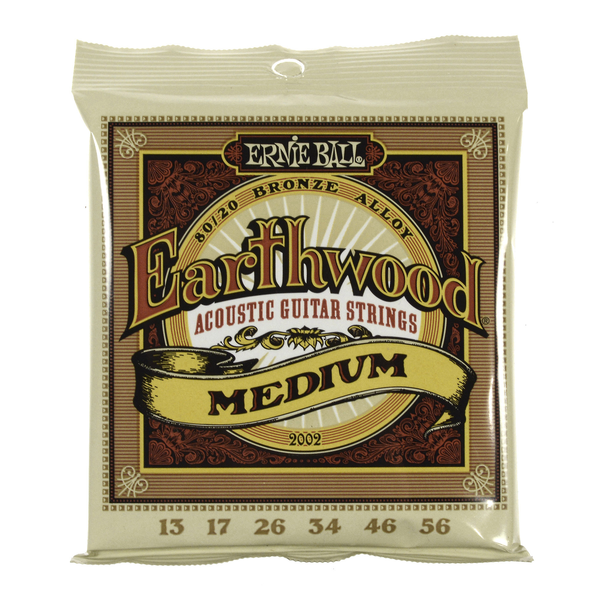 Ernie Ball Earthwood 80/20 Bronze Medium 13-56
