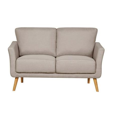 US Pride Furniture Modern Fabric Loveseat