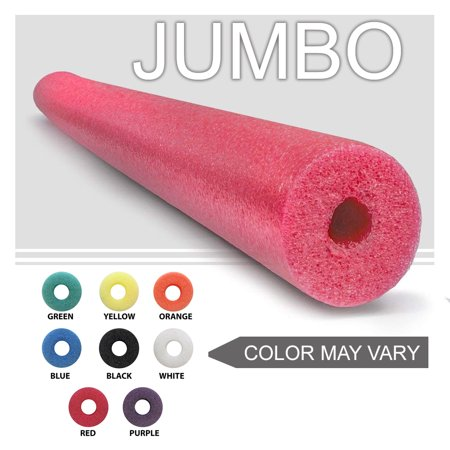 Oodles of Noodles  One Jumbo 55 Inch x 3.5 Inch Pool Noodle For Childrens Bed Rail Random Colors](Pool Noodle Crafts)