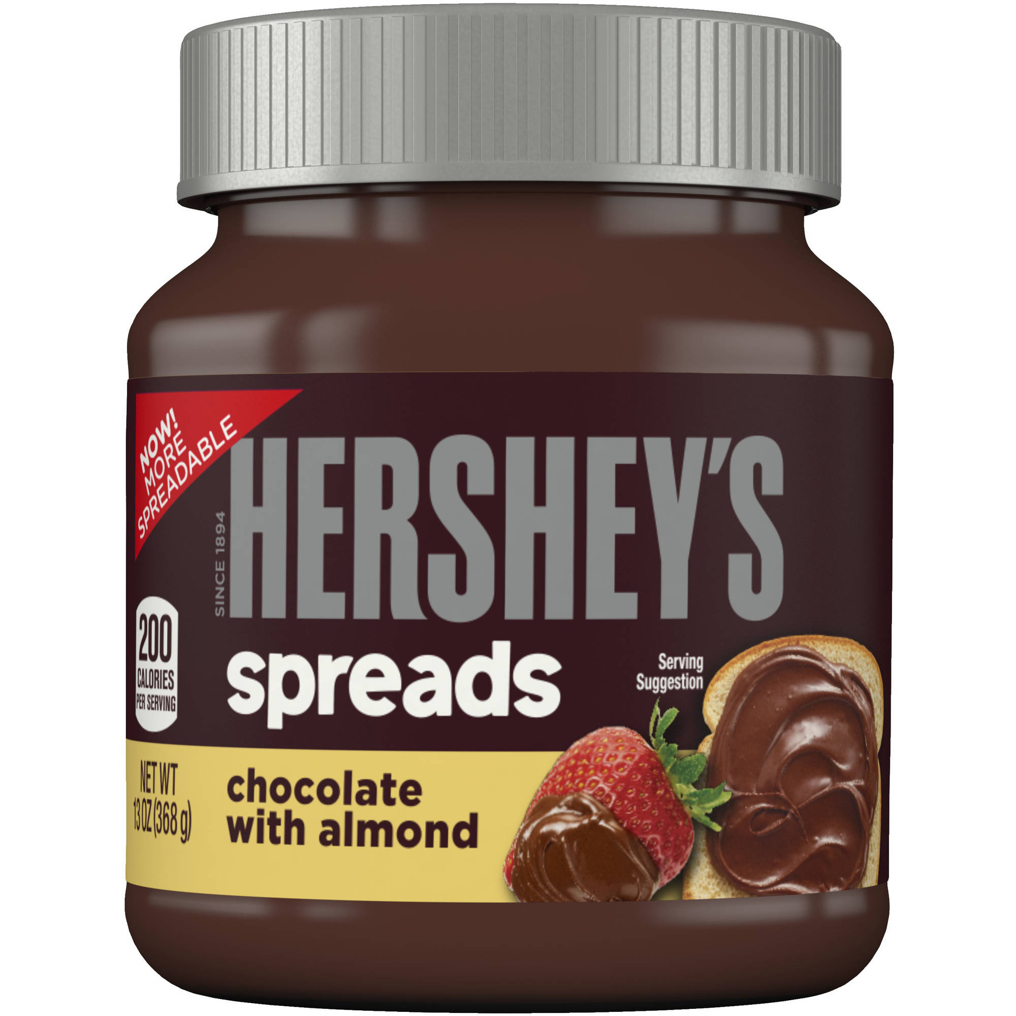 Hershey's Chocolate with Almond Spread, 13 oz