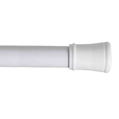 Mainstays 40 Inch Stall Shower Curtain Tension Rod White