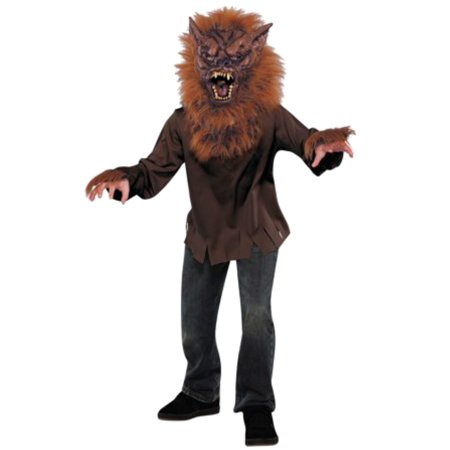 Boys Werewolf  Halloween Costume with Mask  - This Is Halloween Wolf Animation