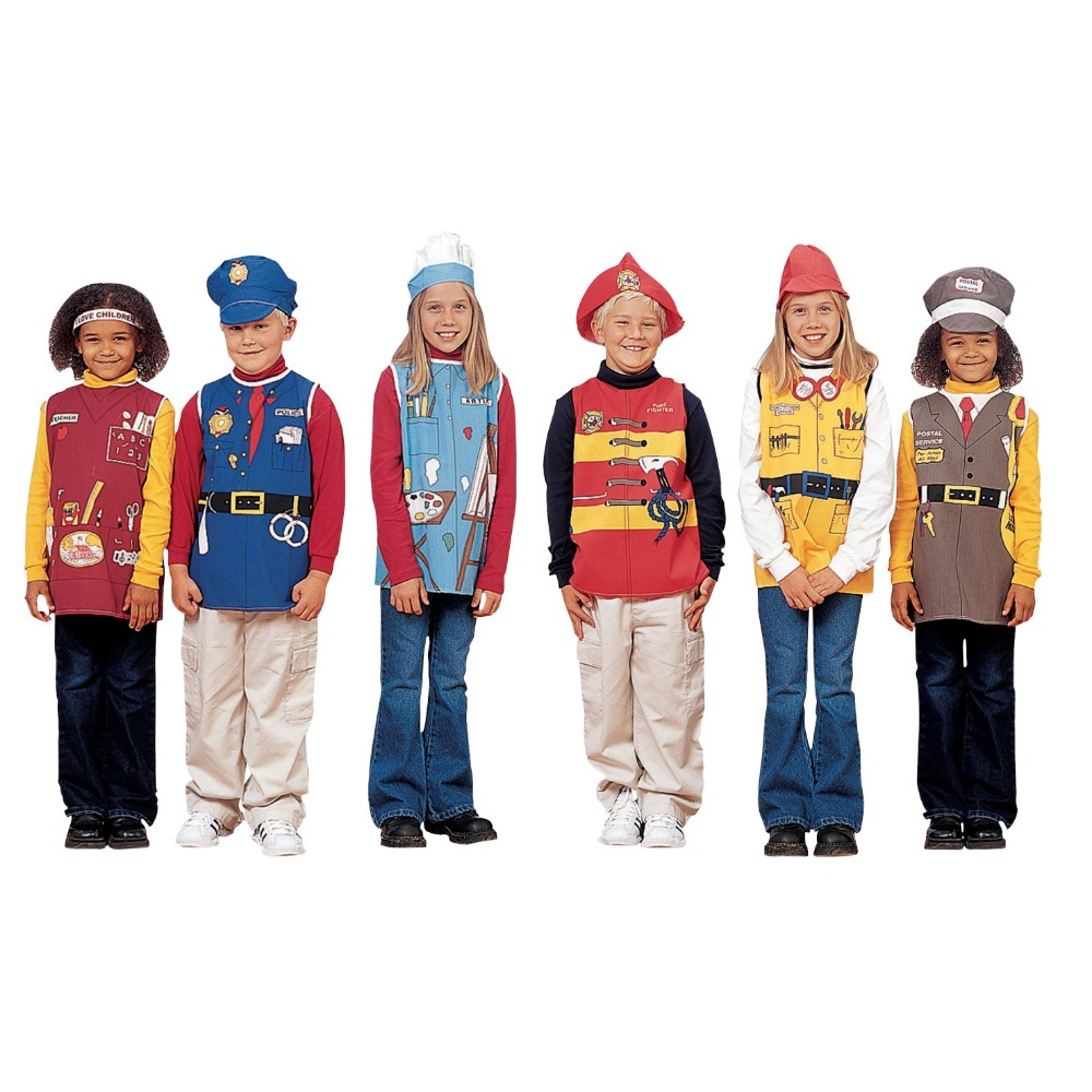 Childcraft Community Helpers Costume Set, Set 6