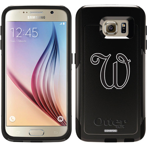 French W Design on OtterBox Commuter Series Case for Samsung Galaxy S6