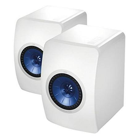 KEF LS50 Mini Monitor - Gloss White (Pair) (Kef Ls50 Best Price Australia)