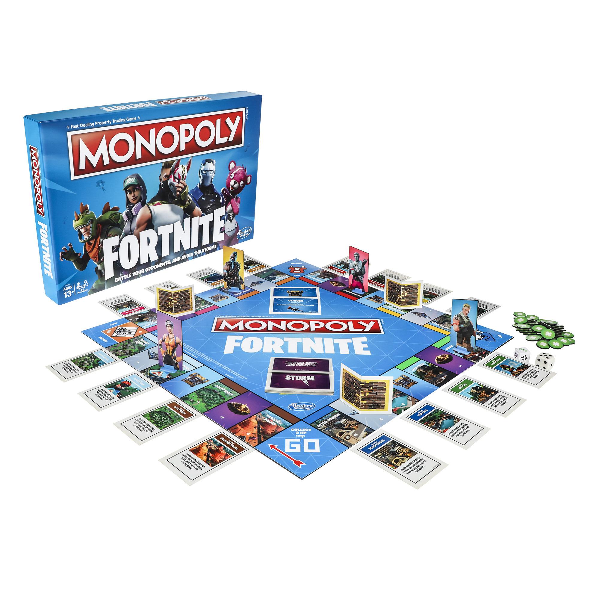 Monopoly Fortnite Board Game O...